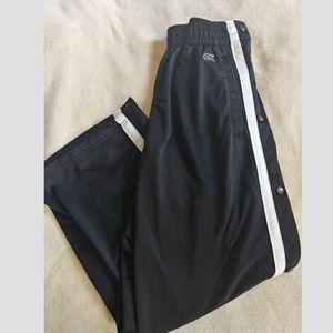 Black Rip-Off Sweatpants